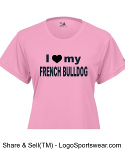 I love My French Bulldog Design Zoom
